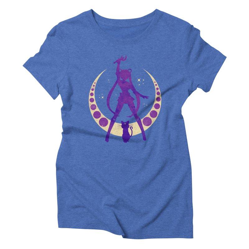 Champion of Justice Women's Triblend T-shirt by Paula García's Artist Shop
