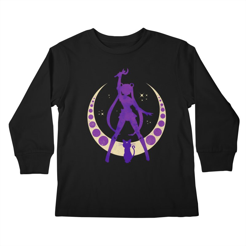 Champion of Justice Kids Longsleeve T-Shirt by Paula García's Artist Shop