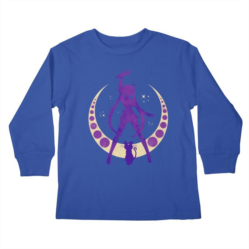 Champion of Justice Kids Longsleeve T-Shirt by Paula García's Artist Shop