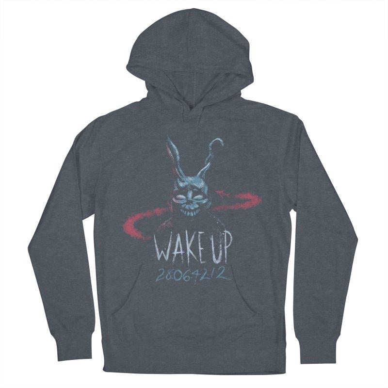 Wake Up Women's Pullover Hoody by Paula García's Artist Shop