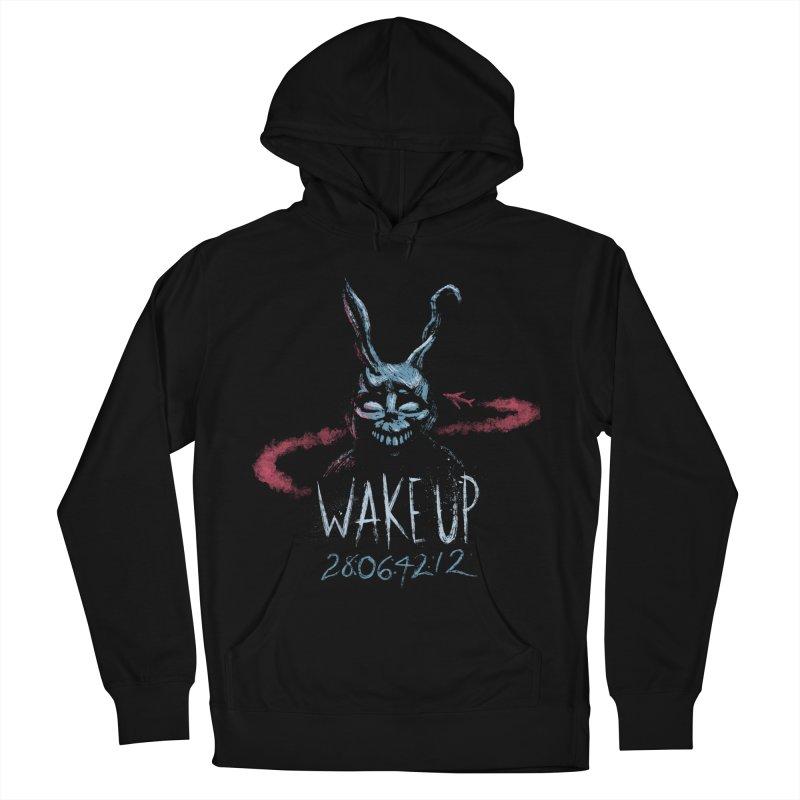 Wake Up Men's Pullover Hoody by Paula García's Artist Shop