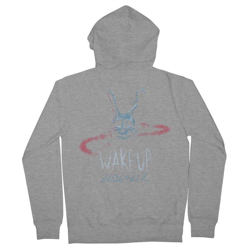 Wake Up Women's Zip-Up Hoody by Paula García's Artist Shop