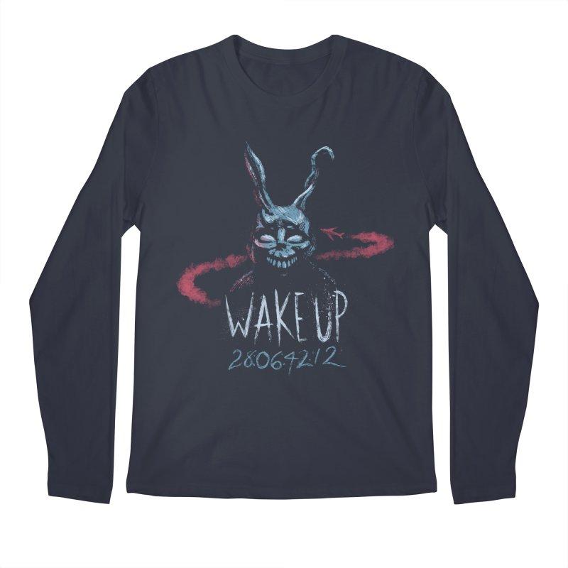 Wake Up Men's Longsleeve T-Shirt by Paula García's Artist Shop