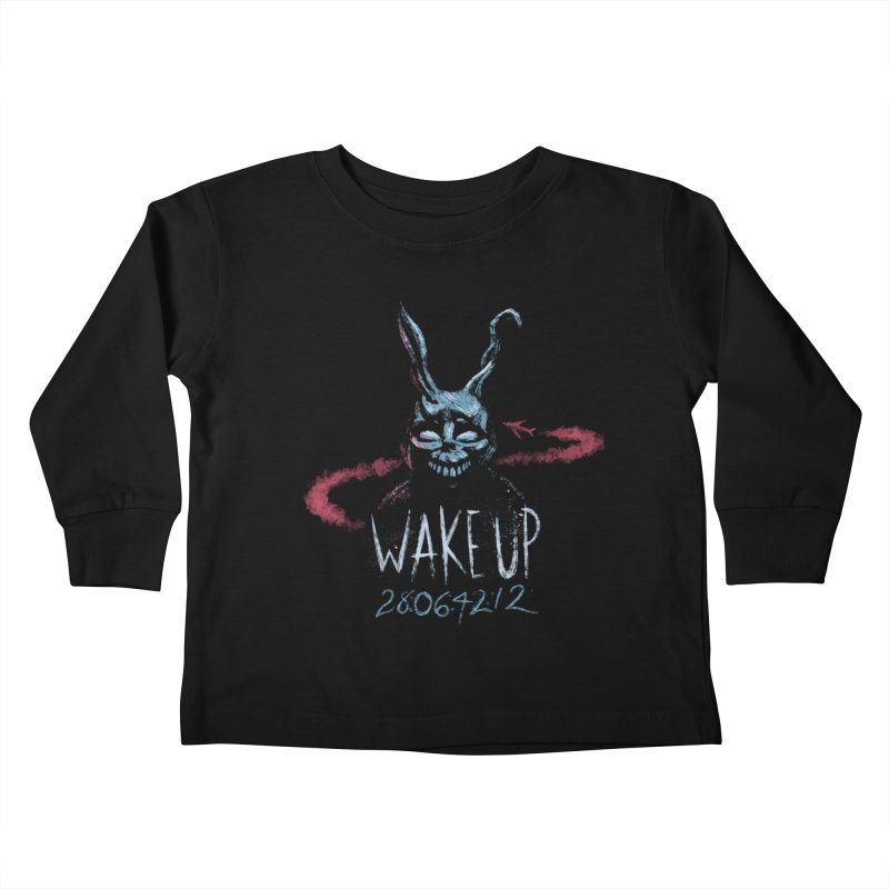 Wake Up Kids Toddler Longsleeve T-Shirt by Paula García's Artist Shop