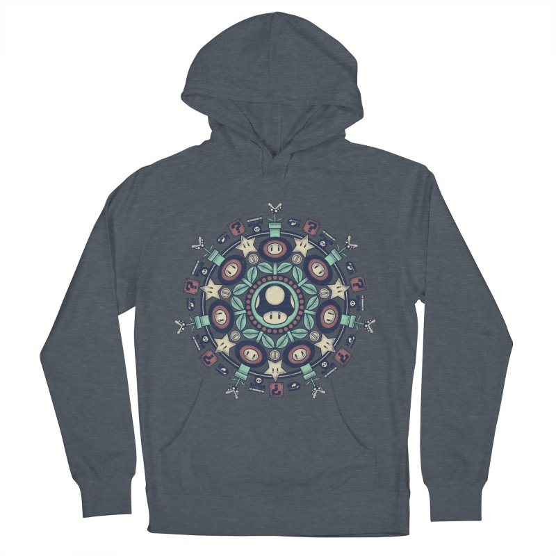 One Up Mandala Women's Pullover Hoody by Paula García's Artist Shop