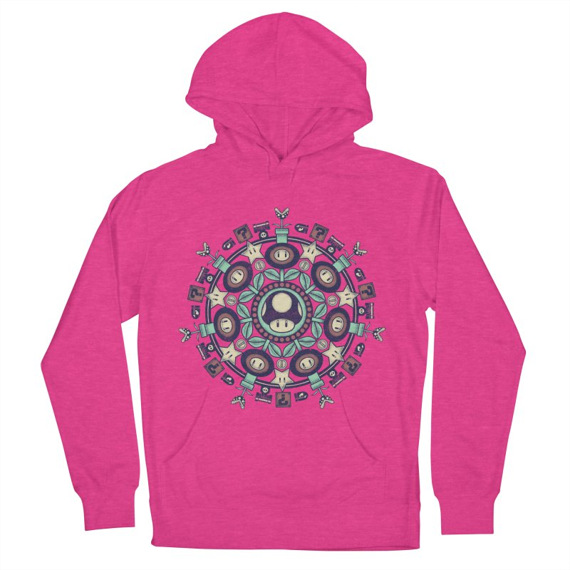 One Up Mandala Women's Pullover Hoody by Paula García's Artist Shop