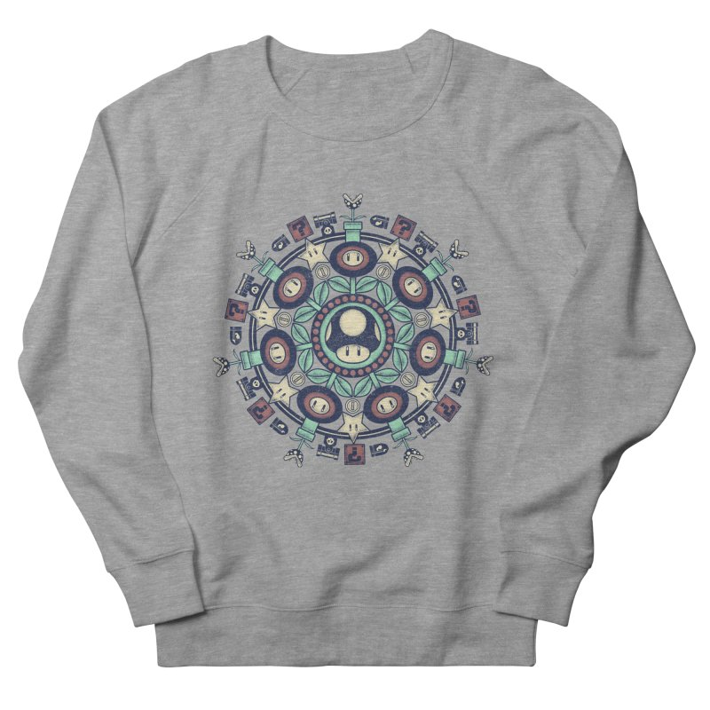 One Up Mandala Women's Sweatshirt by Paula García's Artist Shop