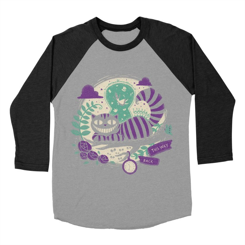 Mad Universe Women's Baseball Triblend T-Shirt by Paula García's Artist Shop