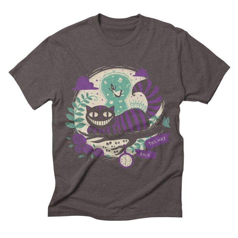 Mad Universe Men's Triblend T-shirt by Paula García's Artist Shop