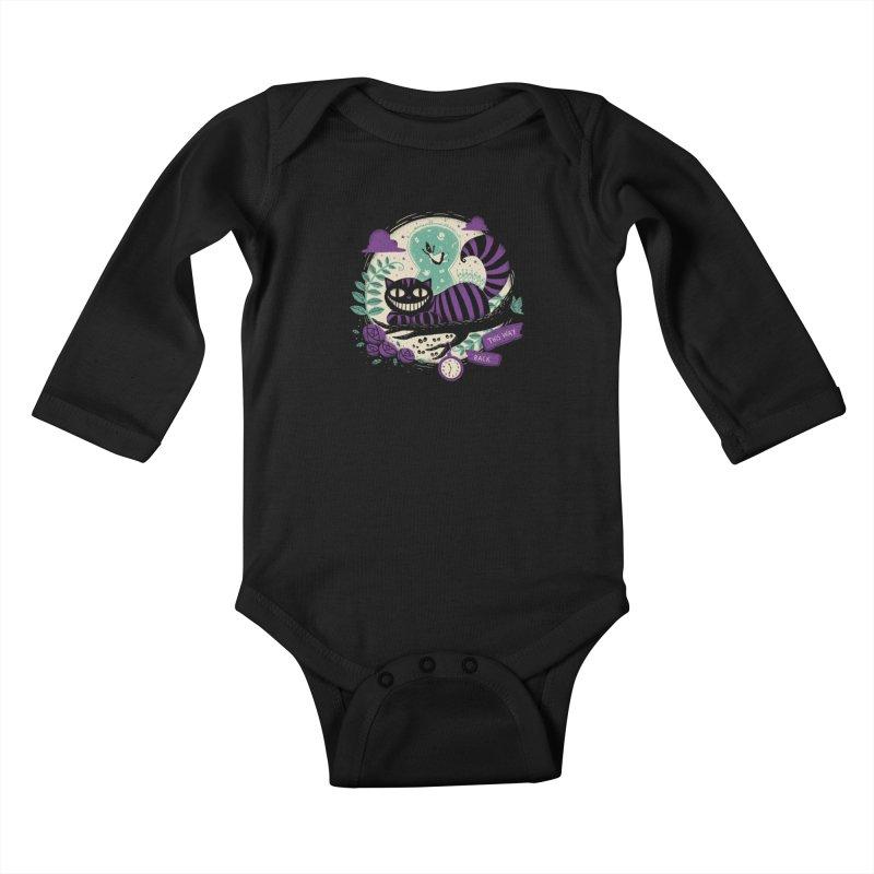 Mad Universe Kids Baby Longsleeve Bodysuit by Paula García's Artist Shop