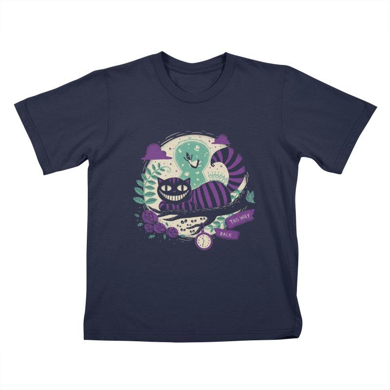 Mad Universe Kids T-Shirt by Paula García's Artist Shop