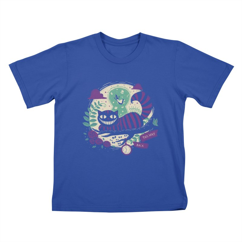 Mad Universe Kids T-shirt by Paula García's Artist Shop