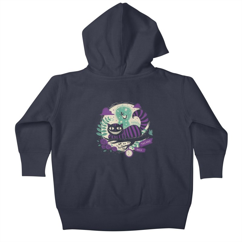 Mad Universe Kids Baby Zip-Up Hoody by Paula García's Artist Shop