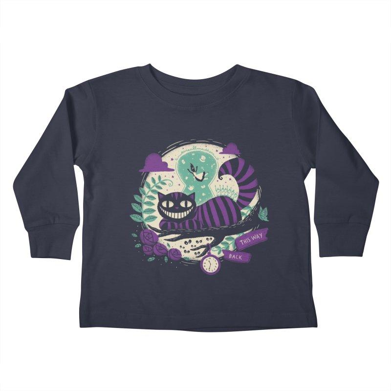 Mad Universe Kids Toddler Longsleeve T-Shirt by Paula García's Artist Shop