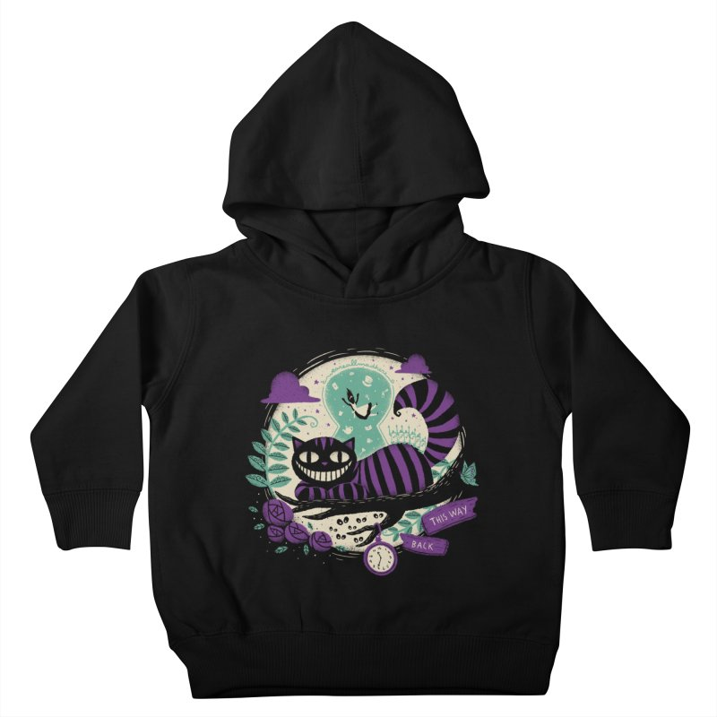 Mad Universe Kids Toddler Pullover Hoody by Paula García's Artist Shop