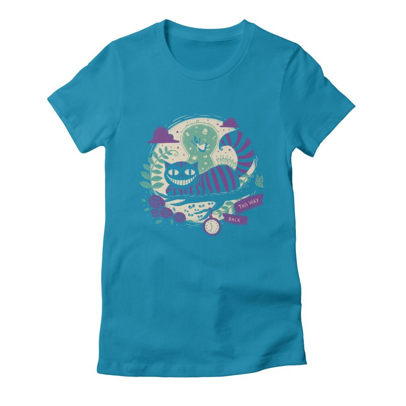 Mad Universe Women's Fitted T-Shirt by Paula García's Artist Shop