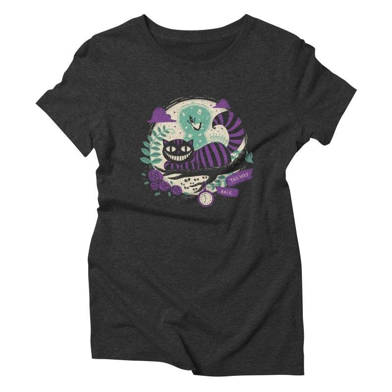 Mad Universe Women's Triblend T-shirt by Paula García's Artist Shop