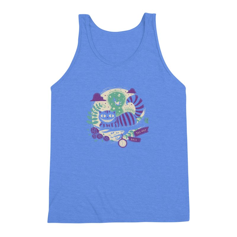 Mad Universe Men's Triblend Tank by Paula García's Artist Shop