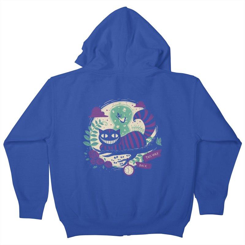 Mad Universe Kids Zip-Up Hoody by Paula García's Artist Shop