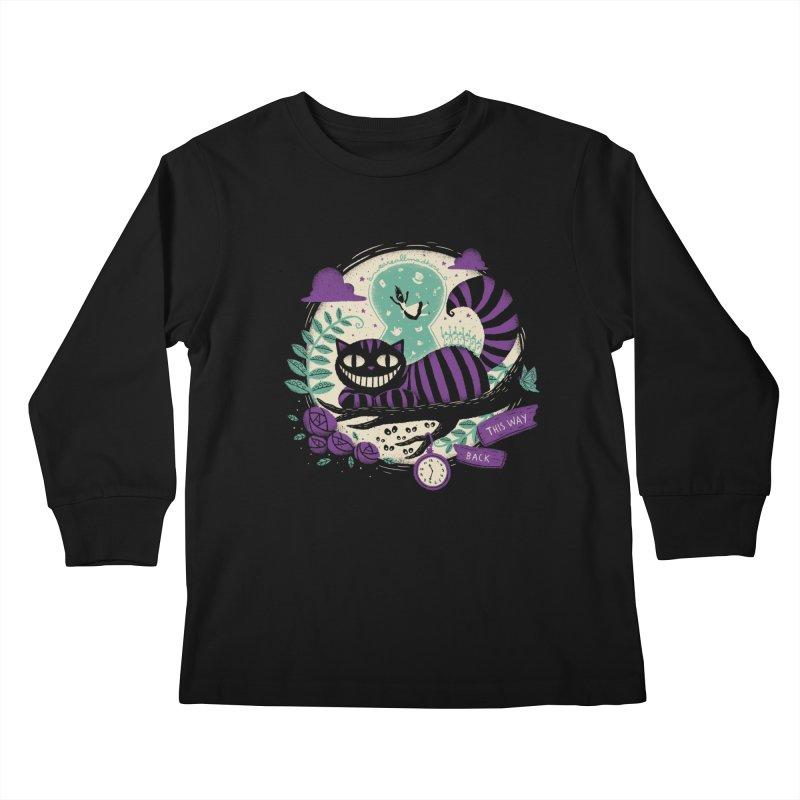 Mad Universe Kids Longsleeve T-Shirt by Paula García's Artist Shop