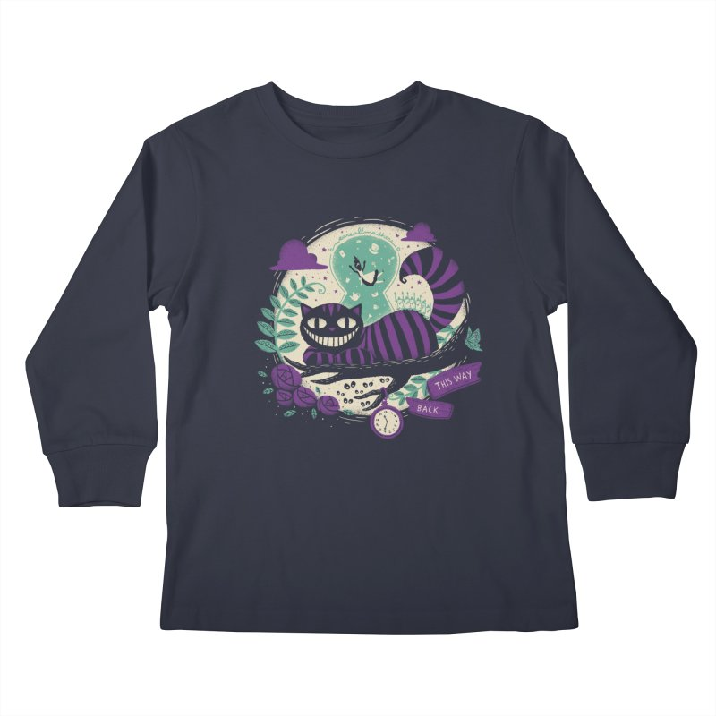 Mad Universe Kids Longsleeve T-Shirt by Paula García's Artist Shop