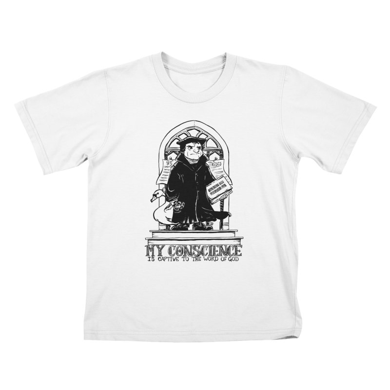 My Conscience is Captive Dark Print   by Paul Cox Illustration Store