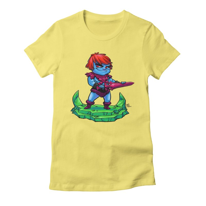 Faker Women's Fitted T-Shirt by Paul Cox Illustration Store