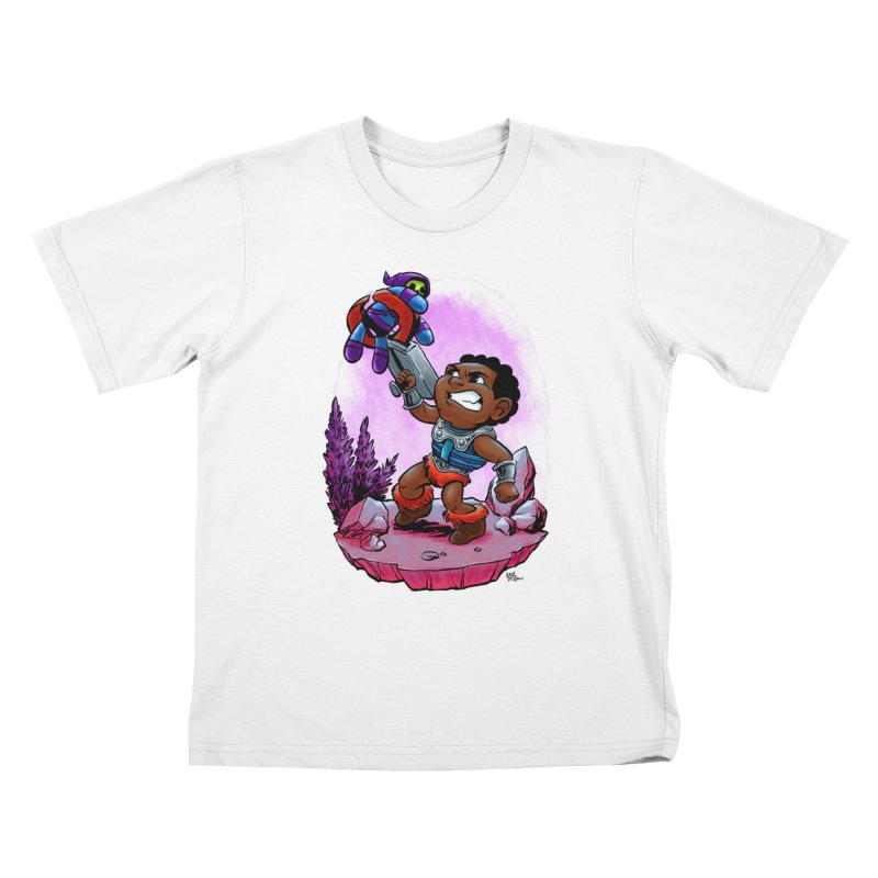 Clamp Champ Kids T-Shirt by Paul Cox Illustration Store