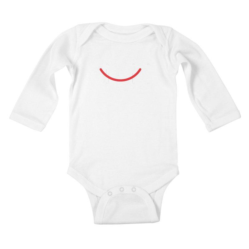 Hi Kids Baby Longsleeve Bodysuit by Paulo Bruno Artist Shop