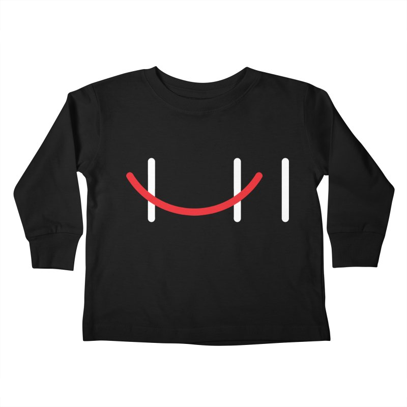 Hi Kids Toddler Longsleeve T-Shirt by Paulo Bruno Artist Shop