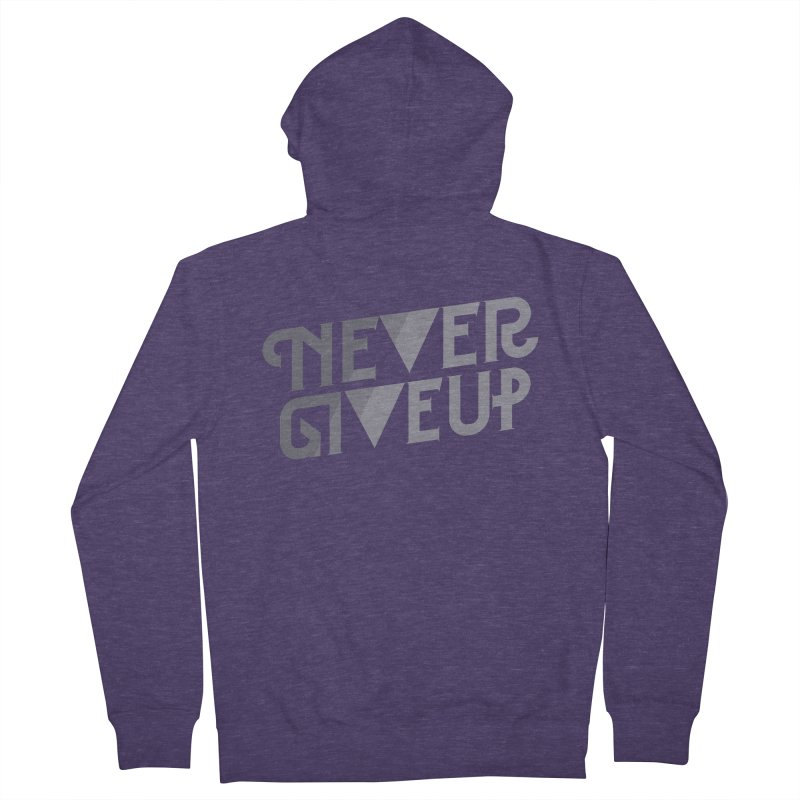 Never Give Up! Men's  by Paulo Bruno Artist Shop
