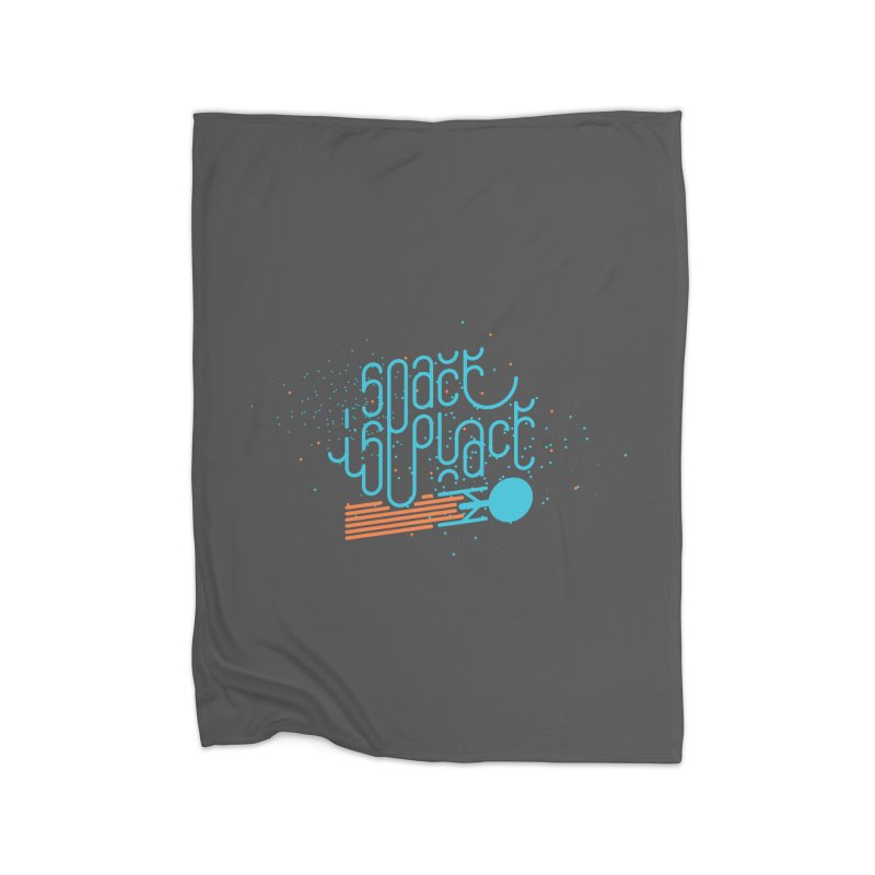 Space is the Place Home Fleece Blanket Blanket by Paulo Bruno Artist Shop