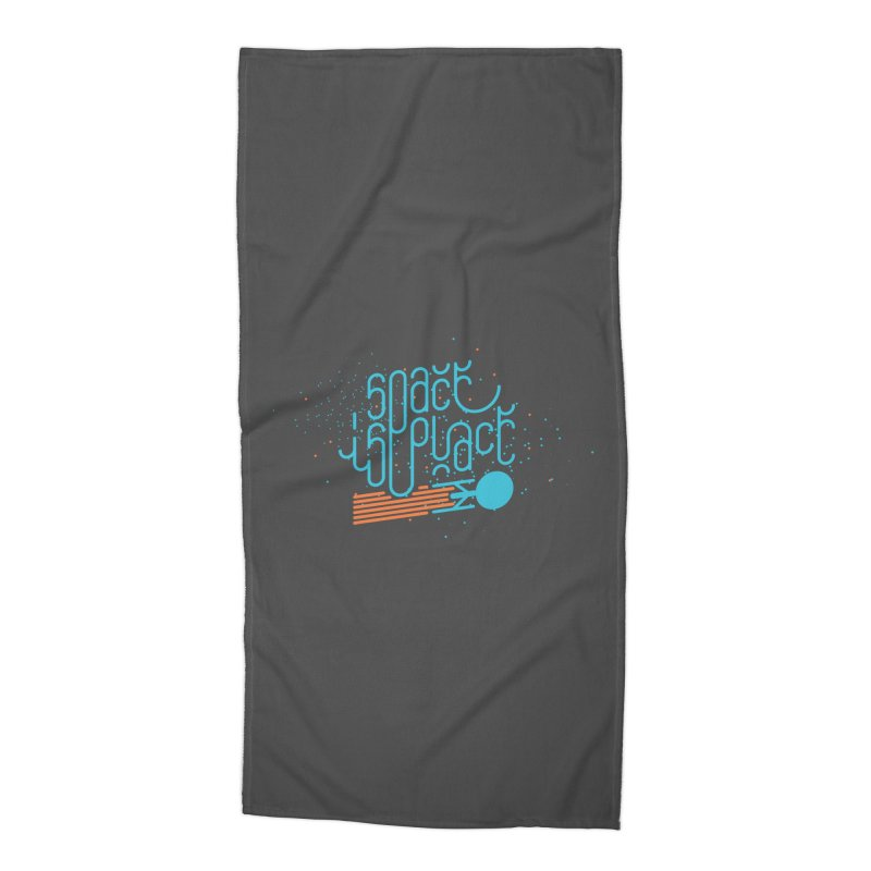 Space is the Place Accessories Beach Towel by Paulo Bruno Artist Shop