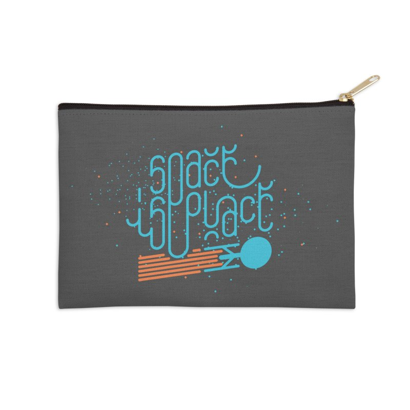 Space is the Place Accessories Zip Pouch by Paulo Bruno Artist Shop