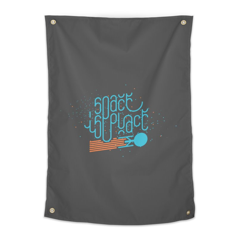 Space is the Place Home Tapestry by Paulo Bruno Artist Shop