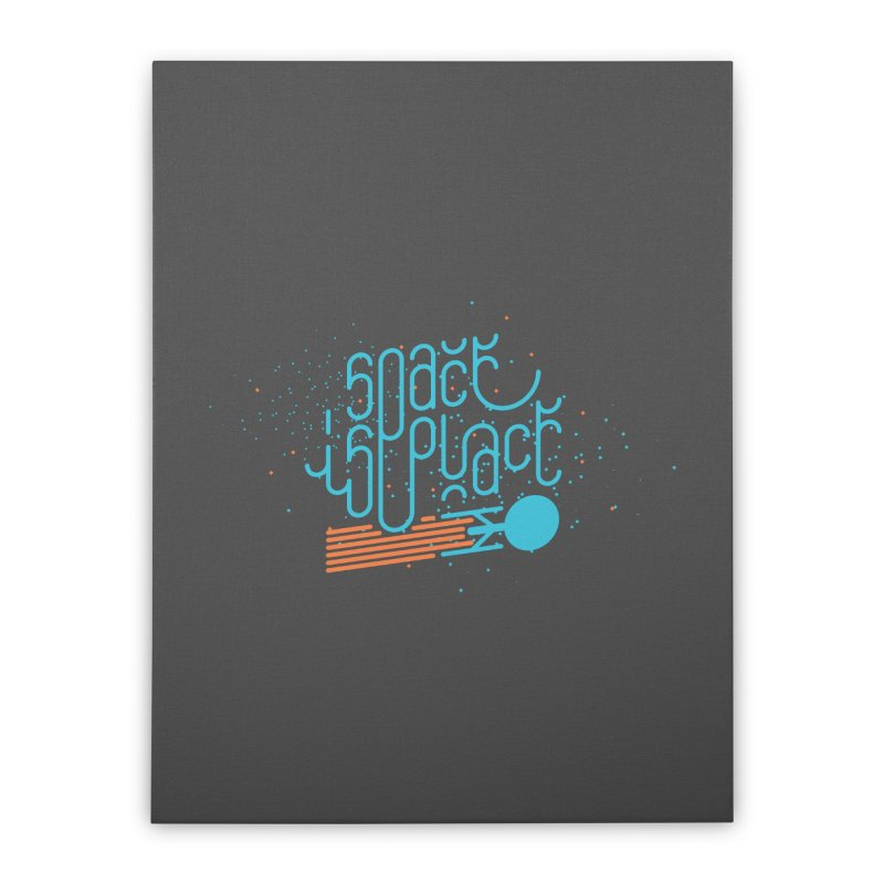 Space is the Place Home Stretched Canvas by Paulo Bruno Artist Shop