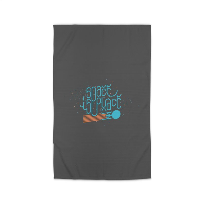 Space is the Place Home Rug by Paulo Bruno Artist Shop