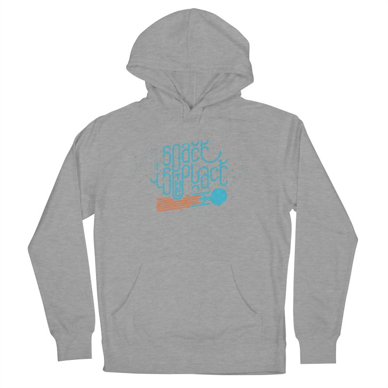 Space is the Place Women's French Terry Pullover Hoody by Paulo Bruno Artist Shop