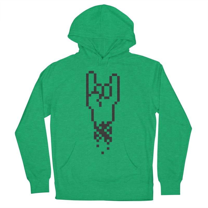 Pixel Rock Women's Pullover Hoody by Paulo Bruno Artist Shop