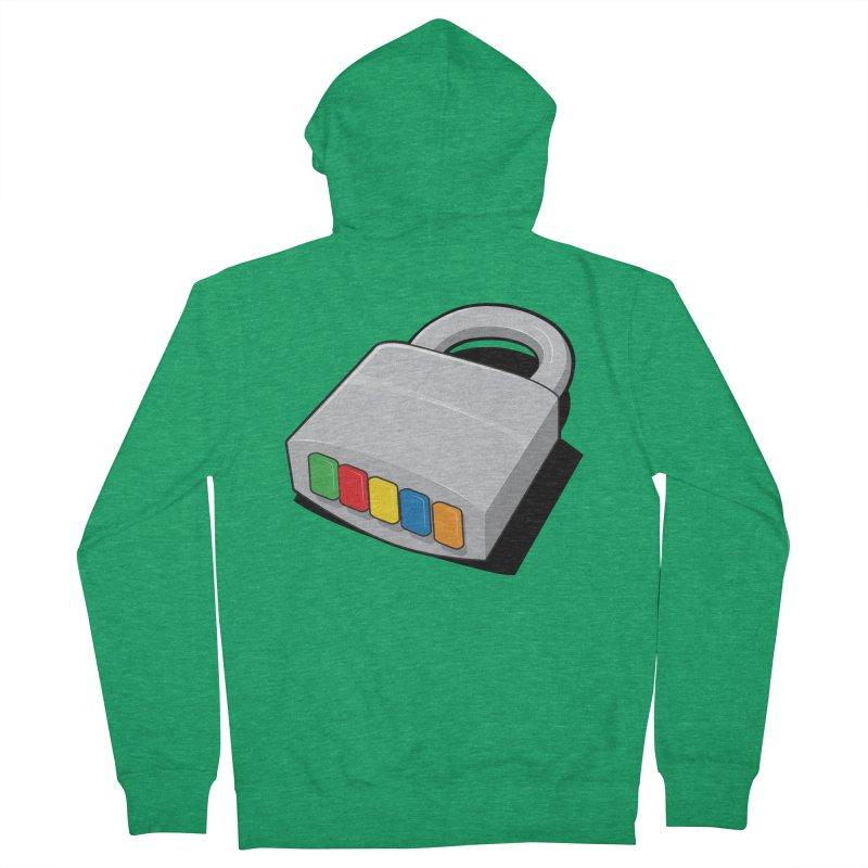 Code Hero Men's Zip-Up Hoody by Paulo Bruno Artist Shop