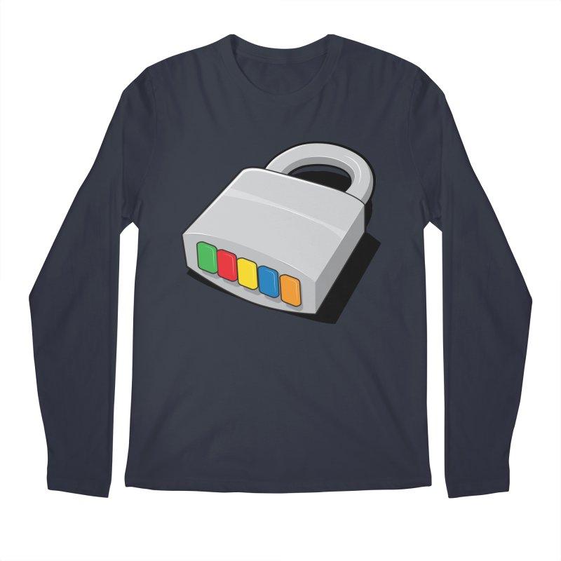 Code Hero Men's Regular Longsleeve T-Shirt by Paulo Bruno Artist Shop