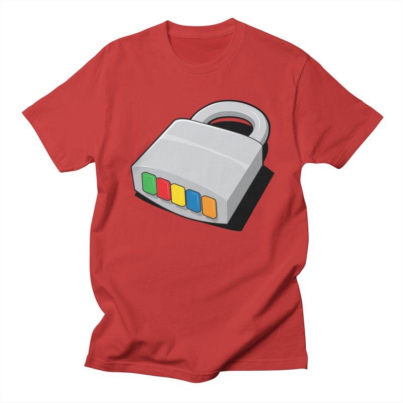 Code Hero Men's T-shirt by Paulo Bruno Artist Shop