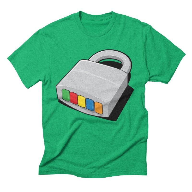Code Hero Men's Triblend T-shirt by Paulo Bruno Artist Shop