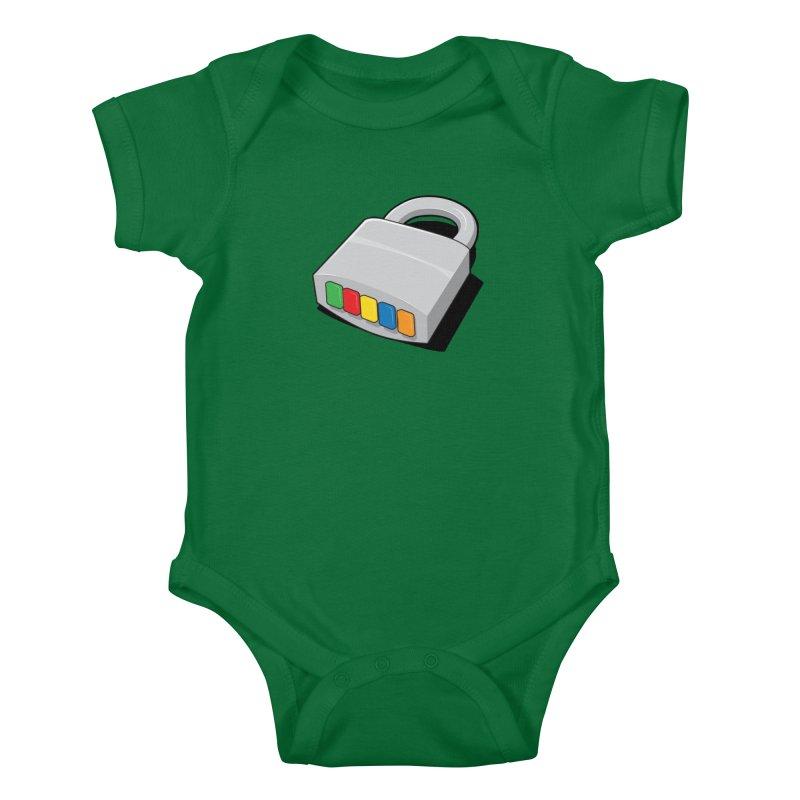 Code Hero Kids Baby Bodysuit by Paulo Bruno Artist Shop