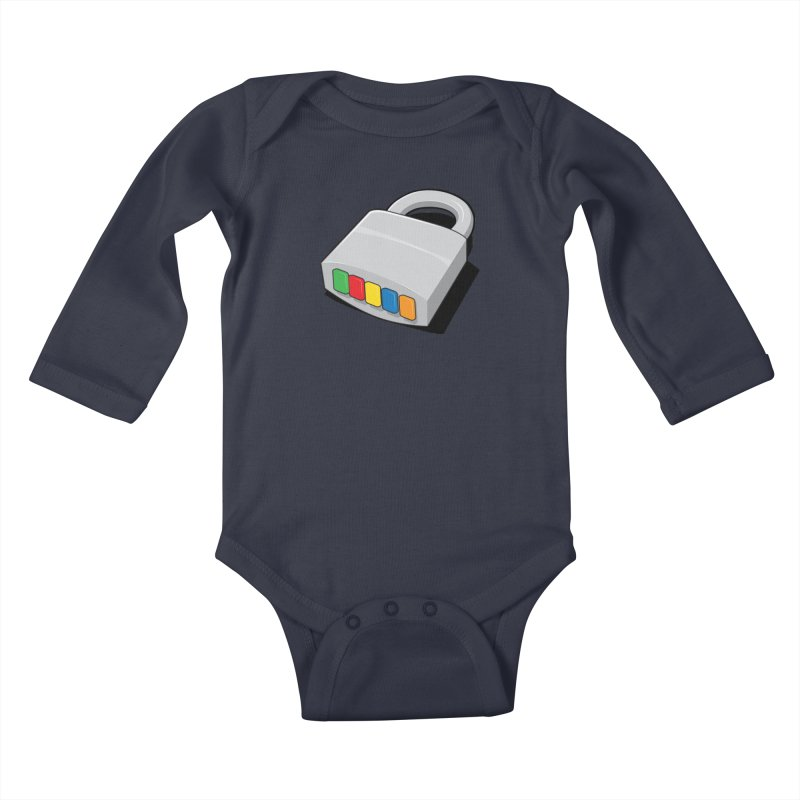 Code Hero Kids Baby Longsleeve Bodysuit by Paulo Bruno Artist Shop
