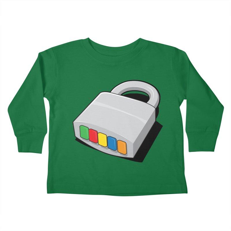 Code Hero Kids Toddler Longsleeve T-Shirt by Paulo Bruno Artist Shop