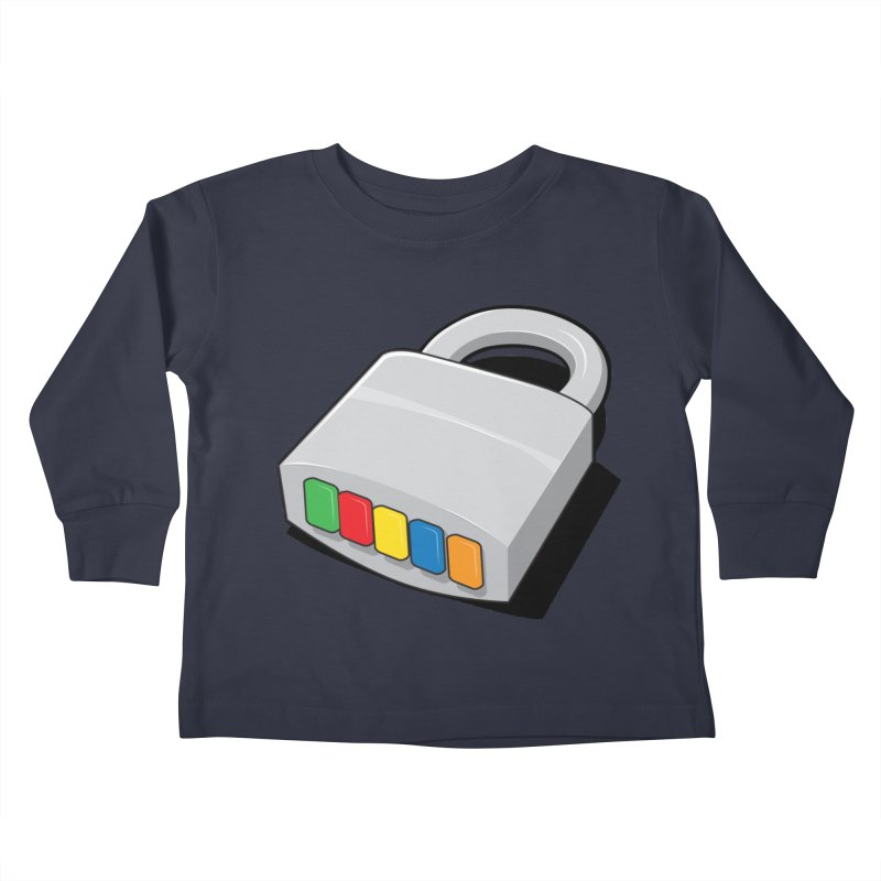 Code Hero Kids Toddler Longsleeve T-Shirt by Paulo Bruno Artist Shop