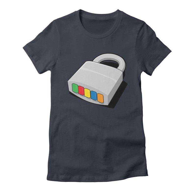 Code Hero Women's Fitted T-Shirt by Paulo Bruno Artist Shop