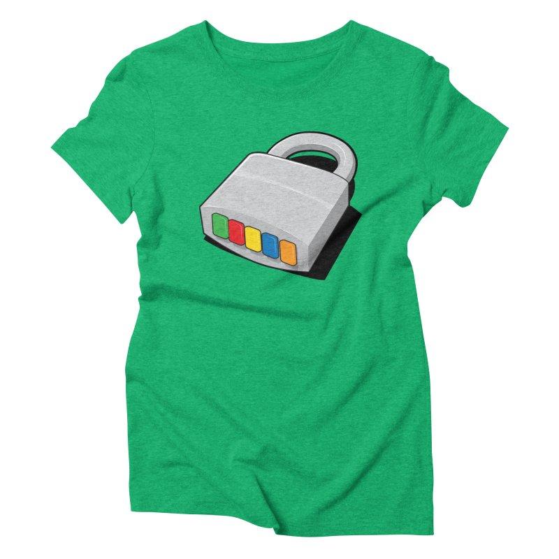 Code Hero Women's Triblend T-Shirt by Paulo Bruno Artist Shop