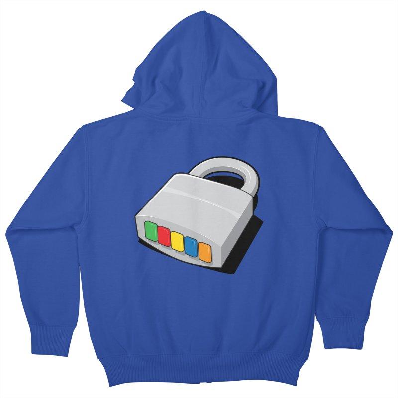 Code Hero Kids Zip-Up Hoody by Paulo Bruno Artist Shop